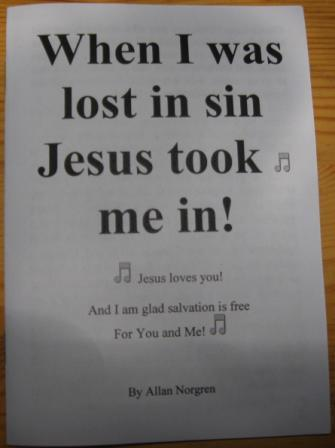 A Tract to read: Lost In Sin