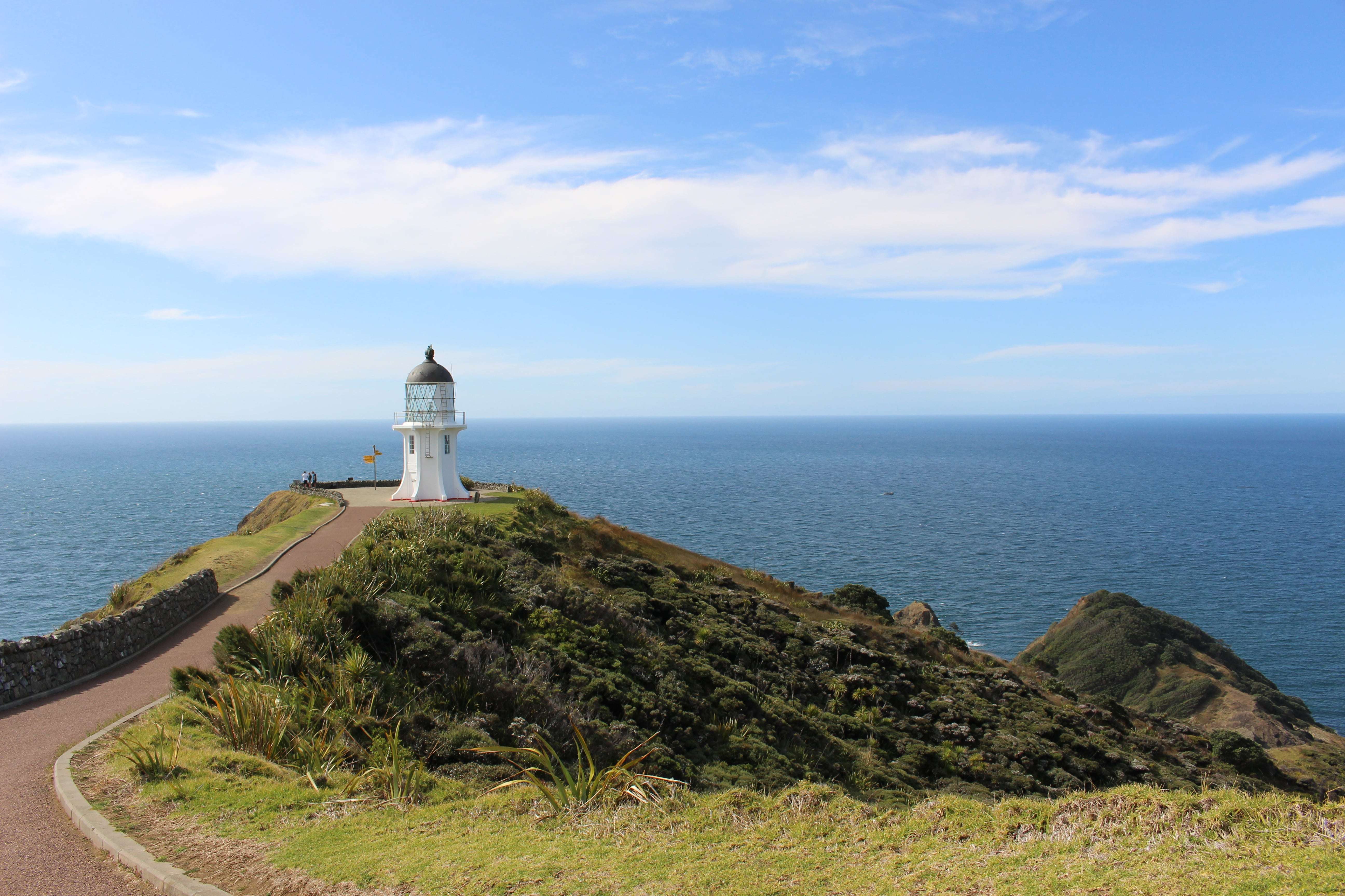 A Lighthouse in New Zealand